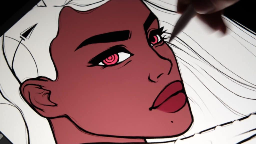 how to shade on procreate before